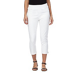Maine New England - White cropped jeans