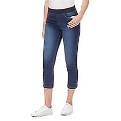 Maine New England - Blue laser spot cropped trousers