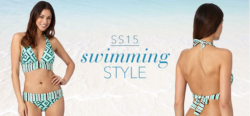 Just In!  Swimming Style