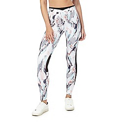 Nine by Savannah Miller - Multi-coloured printed leggings