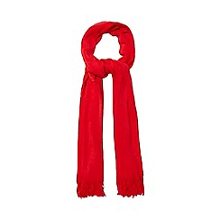 Red Herring - Red supersoft scarf