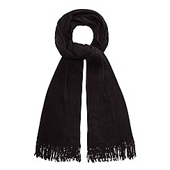 Red Herring - Black supersoft scarf