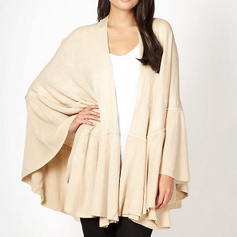 The Collection - Natural ruffle trim wrap