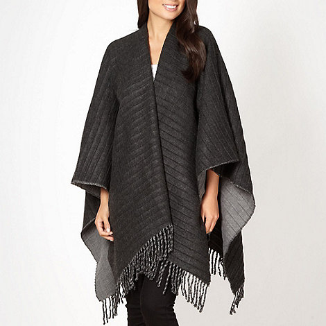 The Collection - Grey textured reversible wrap