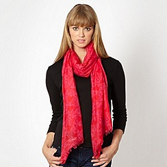 Red Herring - Pink heart scarf
