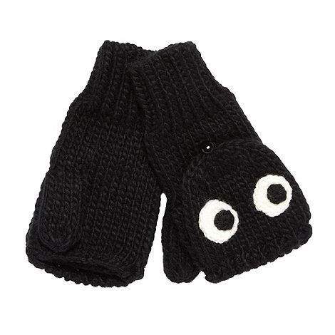 Red Herring - Black eyes mitten gloves