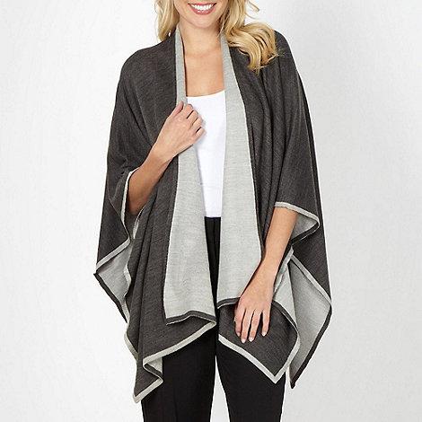 Principles by Ben de Lisi - Designer grey two tone border wrap