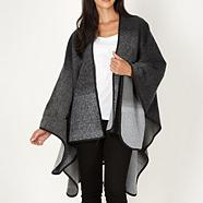 Designer grey graduated wrap