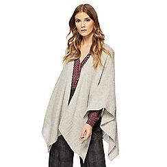 J by Jasper Conran - Grey cashmere wrap