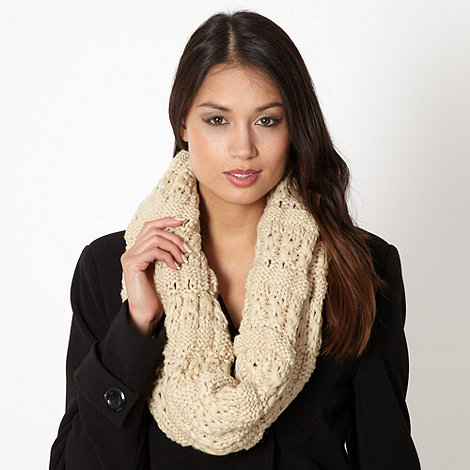 Principles by Ben de Lisi - Designer natural multi knit snood