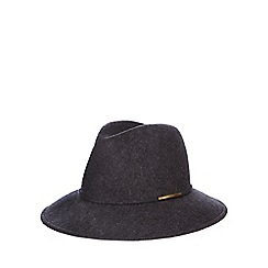 J by Jasper Conran - Grey metal trim fedora
