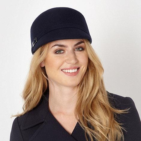 J by Jasper Conran - Designer navy wool cap