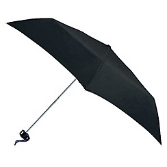 Totes - Black six rib umbrella