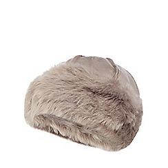 RJR.John Rocha - Grey faux sheepskin Cossack hat