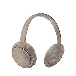 RJR.John Rocha - Grey faux fur ear muffs