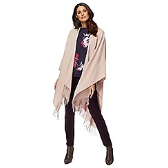 RJR.John Rocha - Pink plain wrap with wool