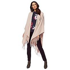 RJR.John Rocha - Pink plain wrap with wool