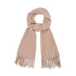 RJR.John Rocha - Pink woven scarf with wool