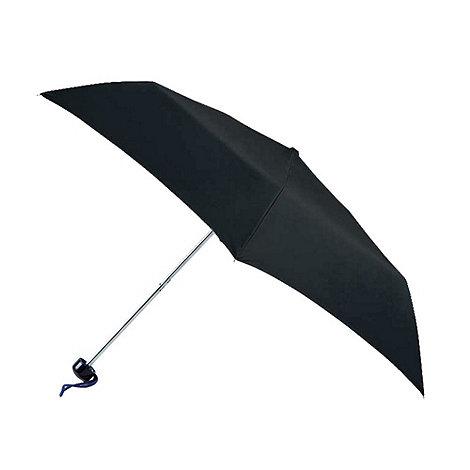 Totes - Black four section umbrella