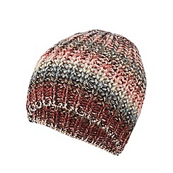RJR.John Rocha - Multi-coloured space dye beanie hat