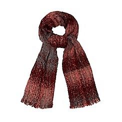 RJR.John Rocha - Pink woven checked scarf