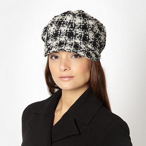 RJR.John Rocha - Designer black checked cap