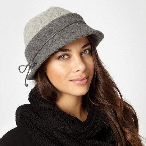RJR.John Rocha - Designer grey trilby hat