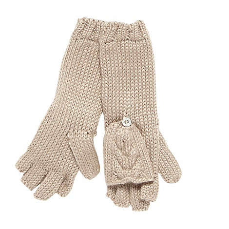 RJR.John Rocha - Designer fawn 2 in 1 gloves