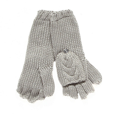 RJR.John Rocha - Designer grey 2 in 1 gloves