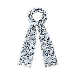 Mantaray - Cream bird print scarf