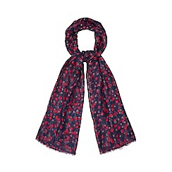 Mantaray - Purple spotted scarf