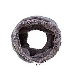 Mantaray - Grey fleece snood