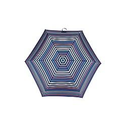 Totes - Supermini 3 section umbrella with a stripe print