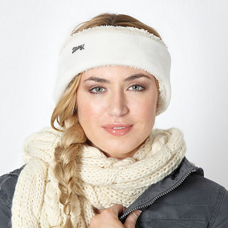 Mantaray - Cream fleece headband