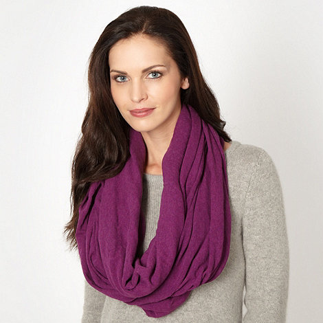 Mantaray - Purple jersey snood