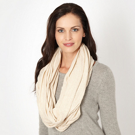 Mantaray - Natural jersey snood