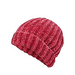 Nine by Savannah Miller - Pink chenille beanie