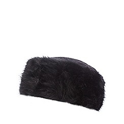 The Collection - Black wool rich Cossack hat