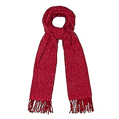 The Collection - Pink boucle scarf