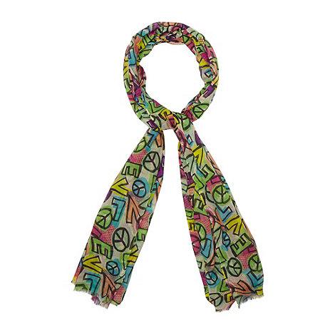 H! by Henry Holland - Designer pink +Love+ scarf
