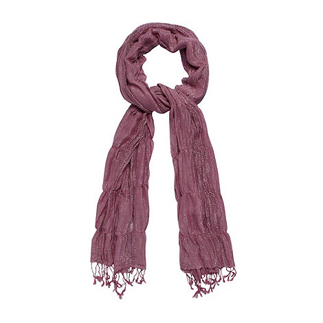 Mantaray - Lilac metallic ladder scarf