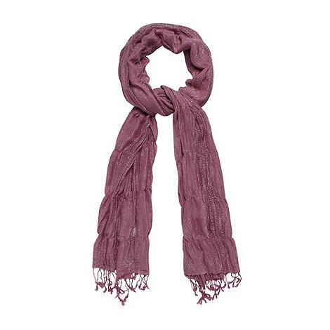 Mantaray - Lilac metallic ladder scarf
