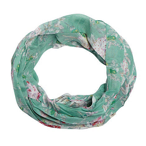 Mantaray - Turquoise floral snood