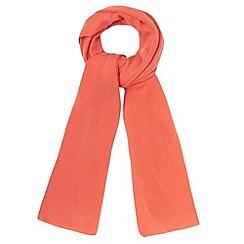 J by Jasper Conran - Designer orange cashmere scarf