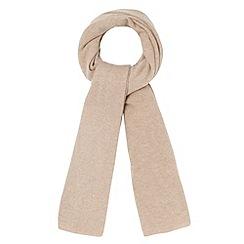 J by Jasper Conran - Designer camel cashmere scarf