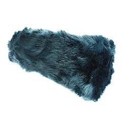RJR.John Rocha - Designer dark turquoise faux fur headband