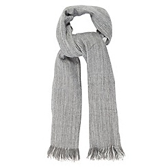 RJR.John Rocha - Designer grey weave scarf