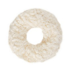 Star by Julien Macdonald - Designer cream bobble eyelash snood