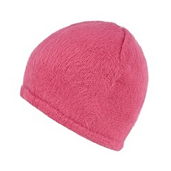Red Herring - Bright pink fluffy beanie hat