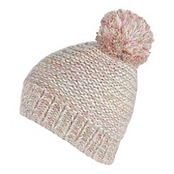 Red Herring - Pink space dye knit bobble hat